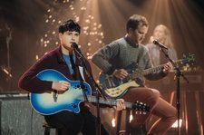 Vampire Weekend Brought Some Holiday Cheer to 'Harmony Hall' on 'Corden': Watch