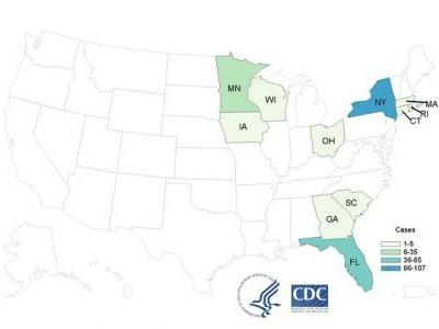 Fresh basil consumption likely responsible for 205 Cyclospora infections in 11 states