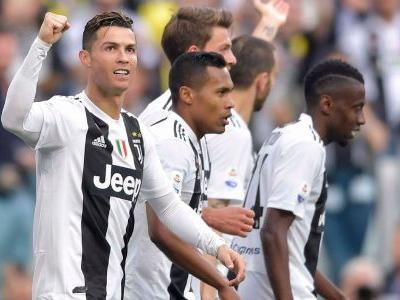 Numbers: Ronaldo makes history as Juventus win 8th straight Serie A title