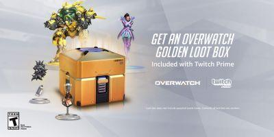 Get a free Golden Overwatch box on Twitch Prime