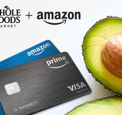 Amazon's Prime Rewards Visa cardholders now get 5% back at Whole Foods if they pay for Prime