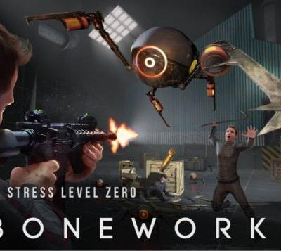 Boneworks update 1.4 arrives next week with new weapons, maps and improvements