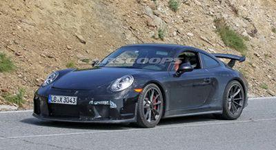 2018 Porsche 911 GT3 Coming To Geneva, Gets 4.0L Engine & Manual Gearbox