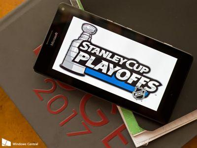 Following the Stanley Cup Playoffs on Windows 10