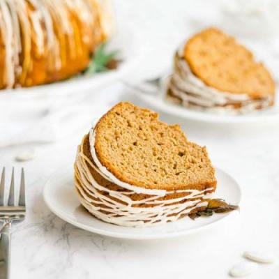 Healthy Pumpkin Bundt Cake