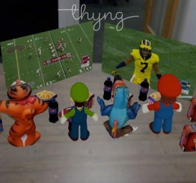 Thyng is a platform for creating AR scenes