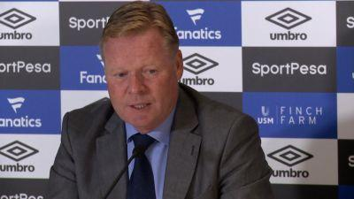 Koeman confident 'young' Rooney will thrive on Everton pressure