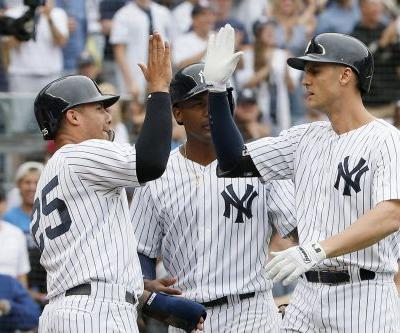 Yankees' offensive explosion comes with a big injury concern