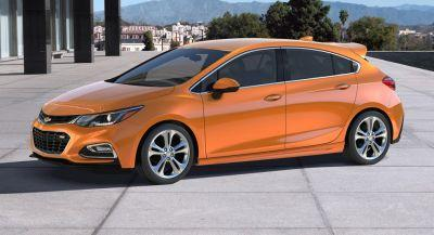 2018 Chevrolet Cruze Diesel Priced From $24,670