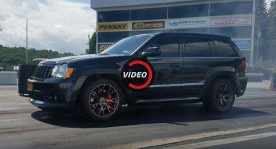 Hellcat-Swapped Jeep Grand Cherokee Is A 10-Second Beast
