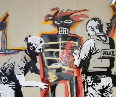 New Banksy Pieces Spotted Outside of Venue Days Before Jean-Michel Basquiat Exhibit