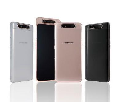 Samsung Galaxy A80 Comes With An Automated Slider And A Rotating Camera