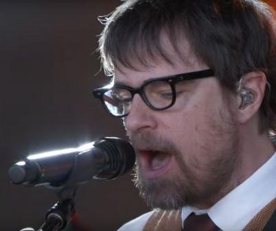 """Weezer Continue to Bless the Rains, Perform """"Africa"""" on 'Kimmel'"""