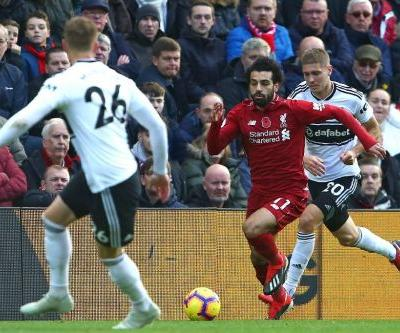 Liverpool continue title push against fading Fulham