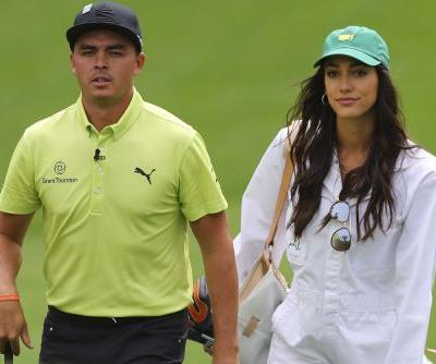 Rickie Fowler's girlfriend pens touching note after Masters near-miss