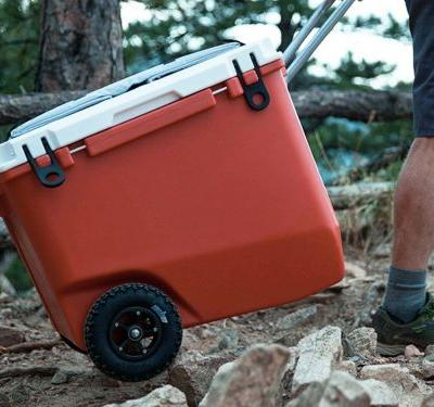 This $400 Kickstarter cooler is the best one I've ever used, and not only because I can tow it with my bike