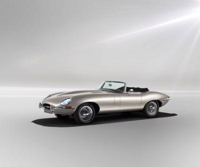 Jaguar Land Rover just unveiled its E-type Zero electric car and it's breathtaking