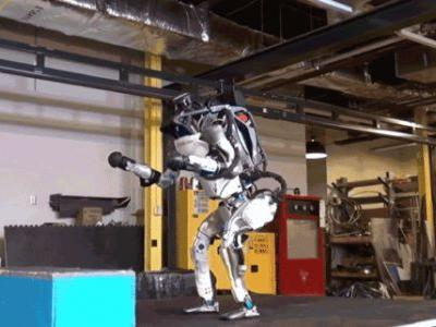 Boston Dynamics' ATLAS Robot Is Now a Backflipping Cyborg Supersoldier