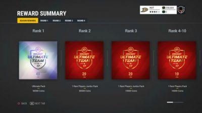 NHL 17 Adds Competitive Seasons Mode To Hockey Ultimate Team