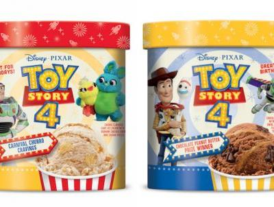 These Edy's 'Toy Story 4' Ice Cream Flavors Will Get You Pumped For The Latest Movie