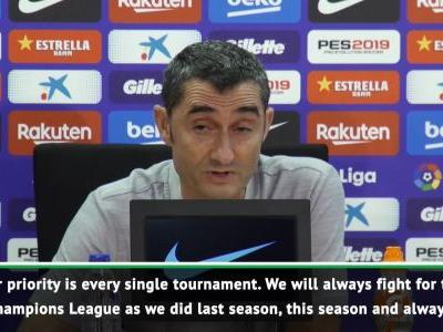 Barca will use La Liga success as a platform for Champions League - Valverde