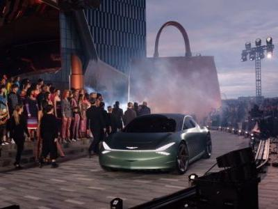 Take a Closer Look at The New Genesis Mint Luxury EV Hatchback Concept