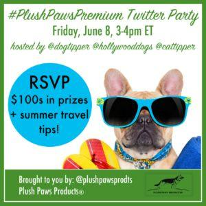 RSVP for the PlushPawsPremium Twitter Party!