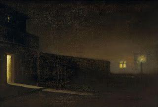 Charles Rollo Peters, Nocturnal Street Scene