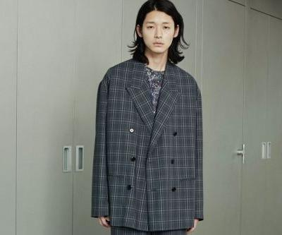 Lad Musician SS21 Blends Ian Curtis' Style With 'The X-Files' Suiting