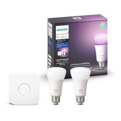 Add some color to your rooms with this $100 Philips Hue Starter Kit