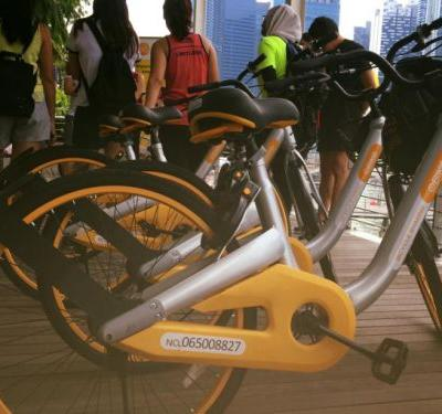 Uber rival Grab quietly backed dock-less bike service oBike