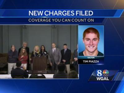 New charges filed in death of Penn State student