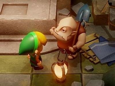 Miyamoto asked Aonuma to make a Zelda game with Super Mario Maker-like gameplay, which lead to the Chamber Dungeons of Link's Awakening