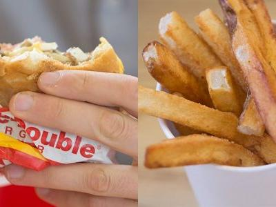 We put In-N-Out and Five Guys to the test in a battle of the burger chains - and the winner surprised us