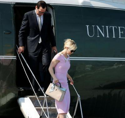 Treasury Secretary Mnuchin said his request to use an Air Force plane for his honeymoon was 'not about convenience'