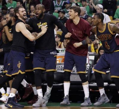 Cavaliers 135, Celtics 102: Cavs headed to third consecutive NBA Finals as LeBron James becomes league's playoff scoring leader