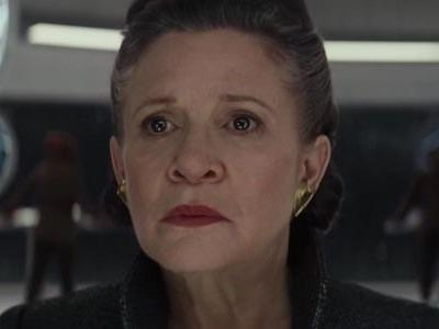 There's An Alien Version Of Carrie Fisher's Dog In Star Wars: The Last Jedi