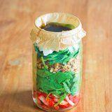 No Soggy Salad Here! How to Perfectly Layer Your Dressing in a Mason Jar