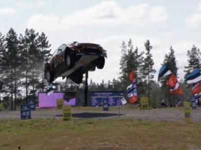 In Speed Flies Wondercars Of Rally Action, Finland