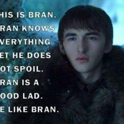 10 Hilarious Bran Stark Memes from the Game Of Thrones Premiere