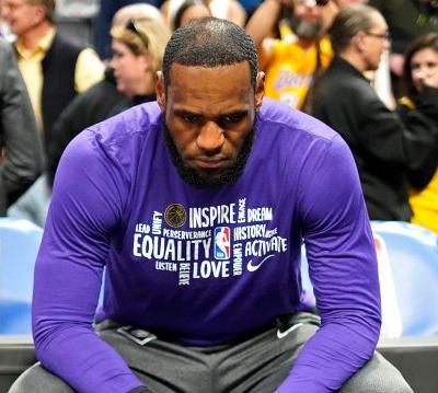 LeBron James hoping Lakers will get 'closure' to this NBA season