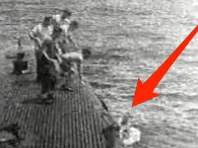 Watch George H.W. Bush being rescued by the US Navy after his plane was shot down by Japanese forces in WWII