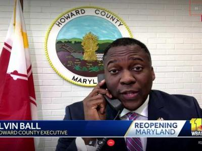 Ball explains reasons for modified reopening in Howard County
