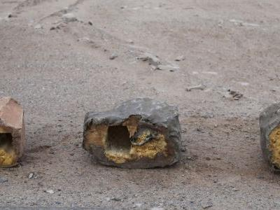 Report: Bombs disguised as rocks in Yemen show Iranian aid