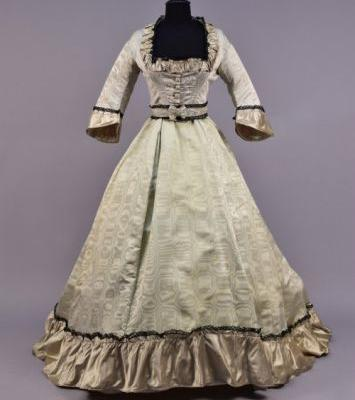 Evening Dressc.1870Whitaker Auctions