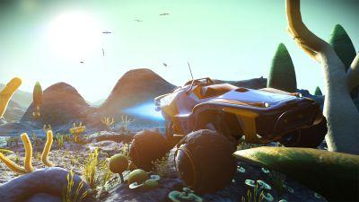 'No Man's Sky' update adds ground vehicles to the mix