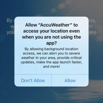 AccuWeather App Found Sharing Location Data Without Permission