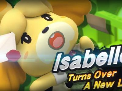 Isabelle Confirmed for Super Smash Bros. Ultimate, New Animal Crossing in 2019