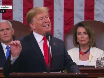 Stick to the Script or Off The Rails? Predictions for Trump's State of the Union Speech