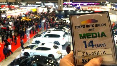 We're Back At Tokyo Auto Salon For 2017!